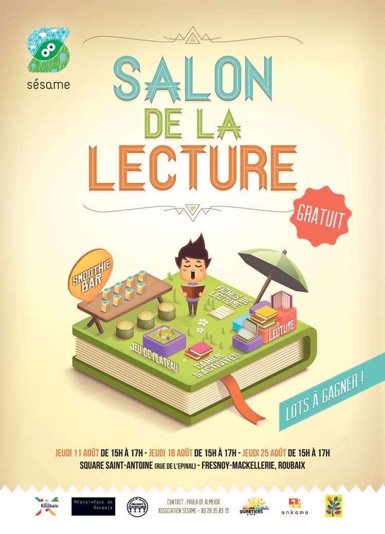 Poster Salon de lecture 2016